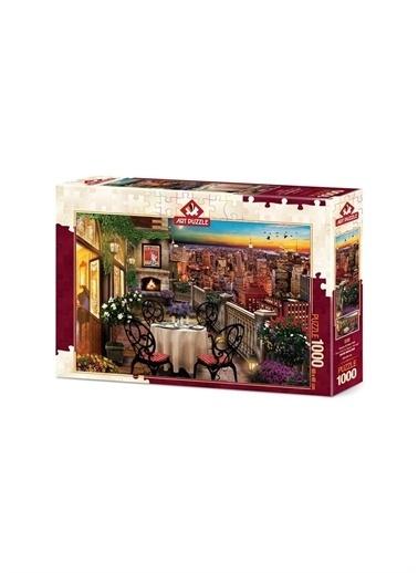 Art Puzzle Art Puzzle New York' Ta Akşam Yemeği 1000 Parça Puzzle  Renksiz